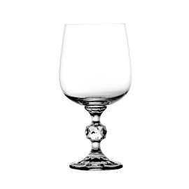 Crystal Red Wine and Water Glasses, Set of 6 4362