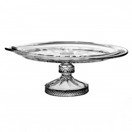 Crystal footed cake plate 29,5 cm - 4536