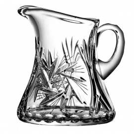 Crystal jug for coffee milk