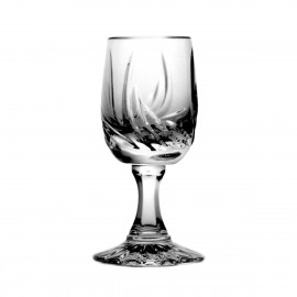 Set of crystal vodka glasses 6 pcs -5743-