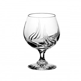 Set of crystal cognac glasses, 6 pcs - 5794