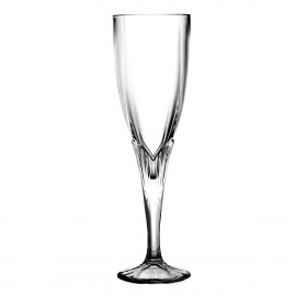 Crystal Champagne Glasses, Set of 6 9303