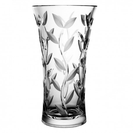 Crystal vase for flowers 24,5 cm - 9665