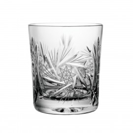 Set of crystal whisky glasses, 6 pcs - 0208