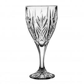 Crystal Red Wine and Water Glasses, Set of 6 4228
