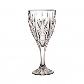Crystal Red Wine and Water Glasses, Set of 6 4227