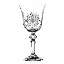 Crystal Red Wine and Water Glasses, Set of 6 3575