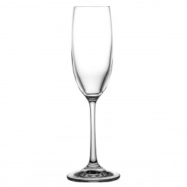 Crystal Champagne Glasses, Set of 6 4212