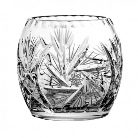 Crystal vase for flowers 9,5 cm - 5034