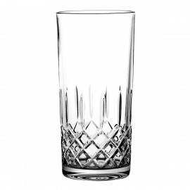 Set of crystal long drink glasses 6 pcs