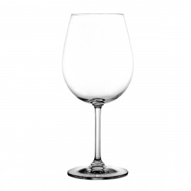 Crystal Red Wine and Water Glasses, Set of 6 4383