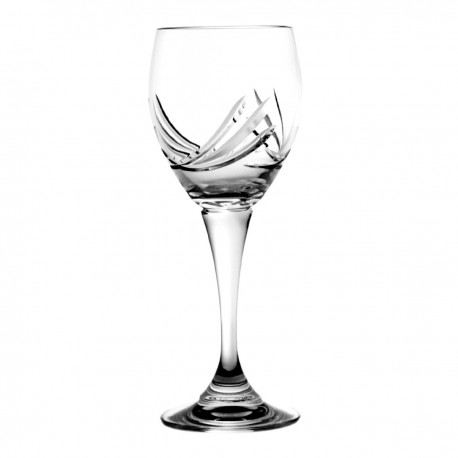 Set of crystal wine glasses 210 ml, 6 pcs - 8307