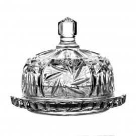 Crystal butter dish 13,5 cm - 2004