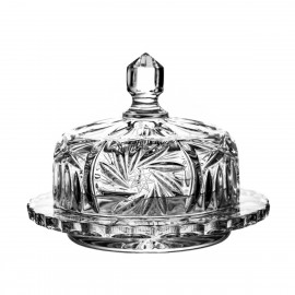 Crystal butter dish 16 cm - 2005