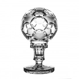 Crystal ball with matt fields 10 cm - 2708 -