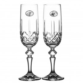 Wedding Crystal Champagne Glasses, Set of 2 6557