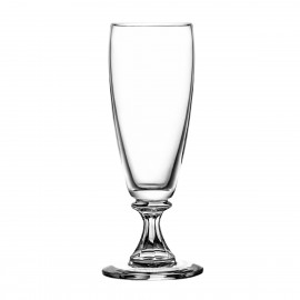 Set of crystal champagne glasses - 4240