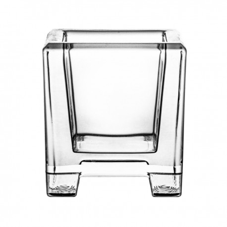 Crystal candlestick for tealights 6 cm - 5881 -