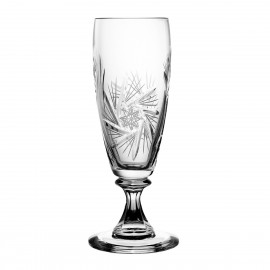 Crystal Champagne Glasses, Set of 6 2577