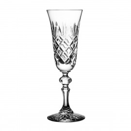 Crystal Champagne Glasses, Set of 6 2835