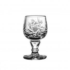 Crystal Vodka Shot Glasses, Set of 6 4850