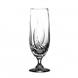 Set of crystal beer glasses, 6 psc -4439-