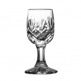 Set of crystal vodka glasses, 6 pcs - 2900 -