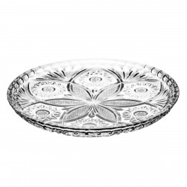 Crystal Plates, Set of 6 0370
