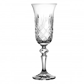 Crystal Champagne Glasses, Set of 6 6047