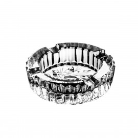 Crystal ashtray 8 cm - 0005