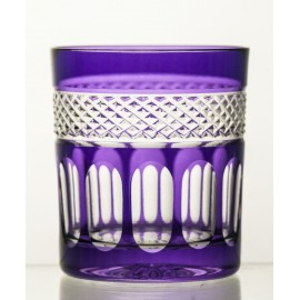Crystal Painted Whisky Glasses, Set of 6 8345