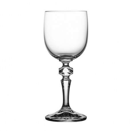 Set of crystal wine glasses, 6 pcs- 3587