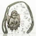 Crystal Paperweight with Praying Angel 3620