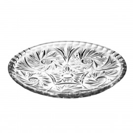 Crystal Plates, Set of 6 0945