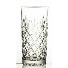 Set of crystal long drink glasses, 6 pcs- 9827 -