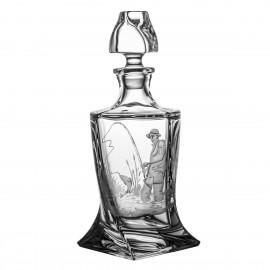 Engraved Whisky Decanter 6628