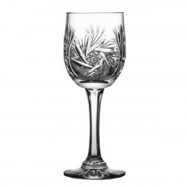 Crystal White Wine Glasses, Set of 6 0204