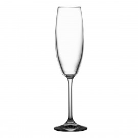 Crystal Champagne Glasses, Set of 6 4959