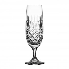 Set of crystal champagne glasses 6 pcs - 5739