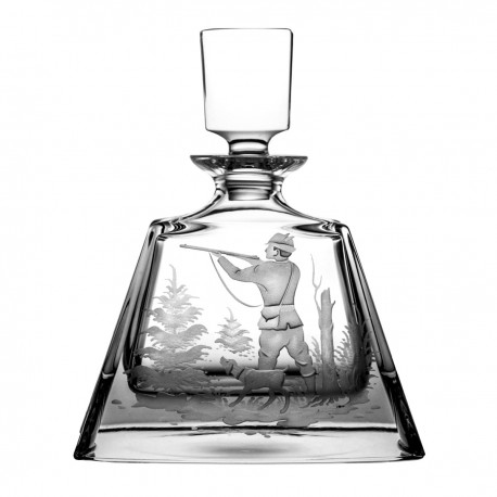 Crystal decanter with engraving 700 ml - 3201