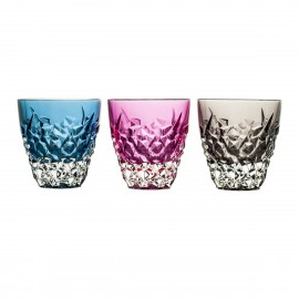 Crystal Painted Whisky Glasses, Set of 6 8287