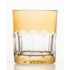 Crystal Painted Whisky Glasses, Set of 6 8308