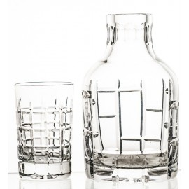 Crystal Decanter and Glass Set 2660