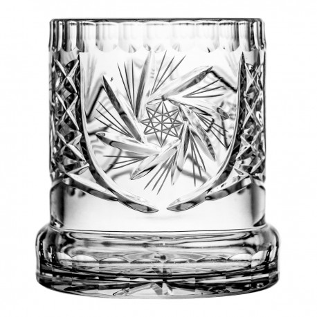 Crystal vase/cutlery container 12,5 cm -4251
