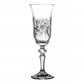 Crystal Champagne Glasses, Set of 6 3567