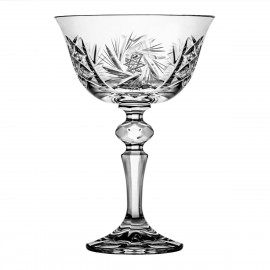 Crystal Martini Glasses, Set of 6 2255