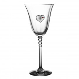 Wedding Crystal Red Wine Glasses, Set of 2 2571