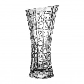 Crystal vase for flowers 30 cm - 3808