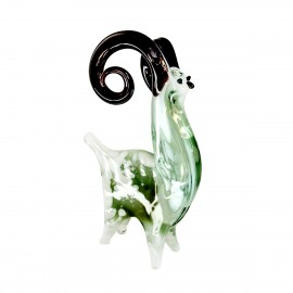 Glasfigur Widder