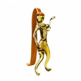 Glass Zodiac Virgo Figurine 9412